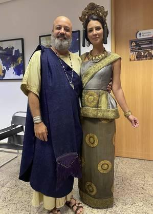 Rodrigo Candelot e Camila Rodrigues em Gênesis