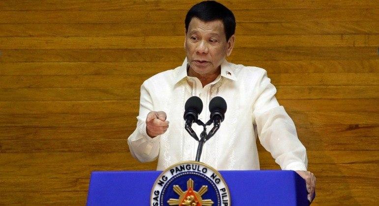 Rodrigo Duterte é famoso por declarações e atitudes polêmicas