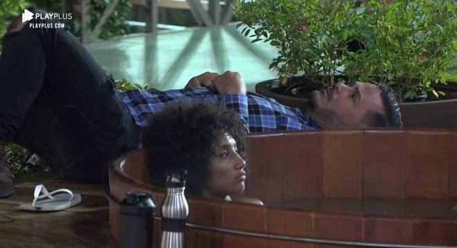 Sabrina e Rodrigo conversaram sobre as próximas Roças
