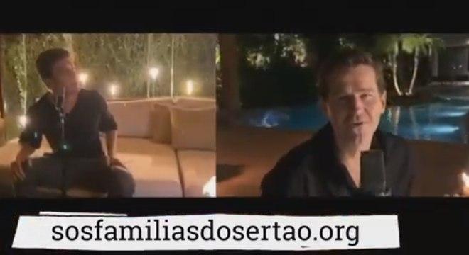 Trecho do clipe de Rodrigo e Afonso Nigro