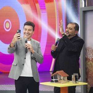 "Rodrigo Faro e Geraldo Luís na ""Hora do Faro"""