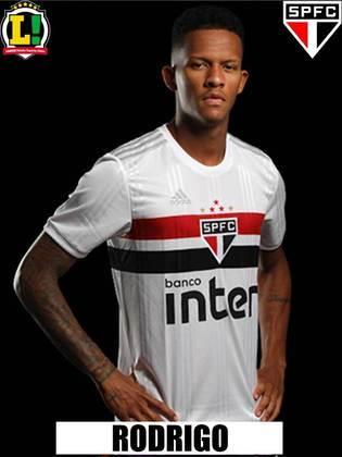 Rodrigo Freitas - 6,0: Não teve muito trabalho defensivo e sofreu um pouco por conta da falta de ritmo e de entrosamento com os companheiros.