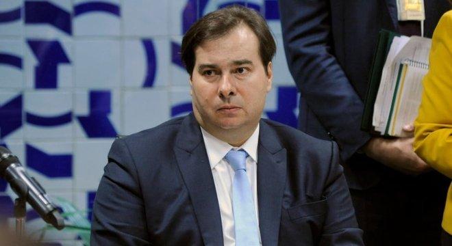 Rodrigo Maia costuma criticar a falta de articulação política de Bolsonaro