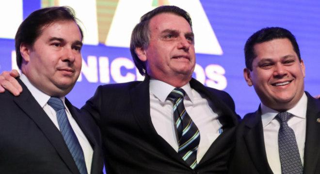 Após Bolsonaro,  Maia e Alcolumbre foram confirmados como vítimas de hackers