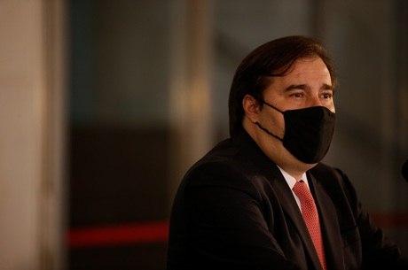 Na imagem, presidente Rodrigo Maia (DEM-RJ)