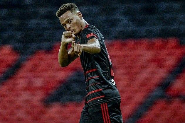 Rodrigo Muniz - 5 gols - Flamengo - Campeonato Carioca