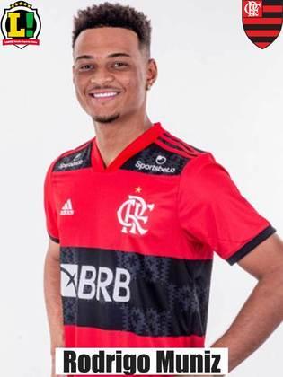 Rodrigo Muniz - 6,5 - Ficou poucos minutos em campo, mas deu grande assistência para o gol de Thiago Maia.