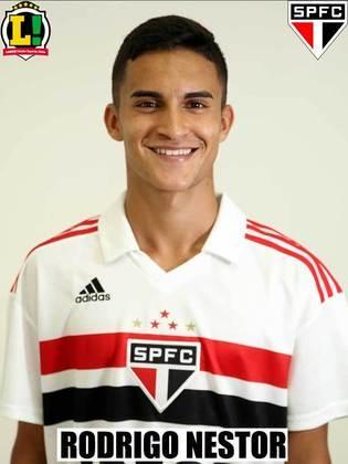Rodrigo Nestor - 6,0 - Boa partida do volante do Tricolor, ocupando o meio de campo e interagindo com a criação.