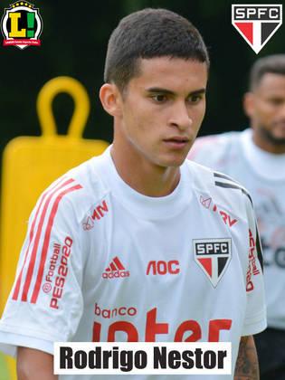 Rodrigo Nestor - 6,0: Preencheu bem o meio-campo do São Paulo e assustou em uma boa cobrança de falta.