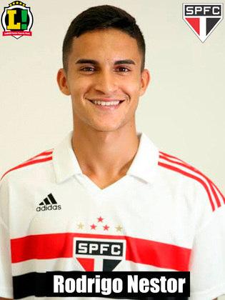 Rodrigo Nestor - Sem nota: Entrou no fim, fica sem nota.