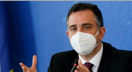 Na imagem, presidente Rodrigo Pacheco (Senado)