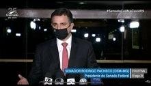Pacheco diz esperar manifestação 'pacífica e ordeira'