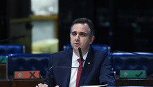 Rodrigo Pacheco faz ofensiva por votos na eleição do Senado