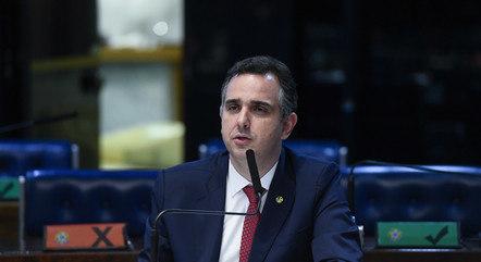 Na imagem, senador Rodrigo Pacheco (DEM-MG)