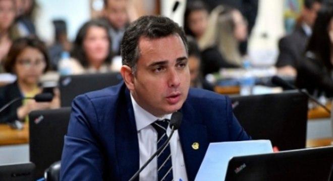 Rodrigo Pacheco (DEM-MG), presidente do Senado, e autor do projeto