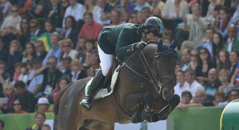 Rodrigo Pessoa irá competir em sua sétima Olimpíada