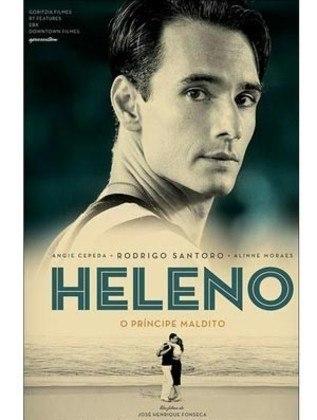 Rodrigo Santoro é quem interpreta Heleno em 'Heleno – o Príncipe Maldito' (2011), filme que conta a trágica vida do jogador do Botafogo nos anos 40.
