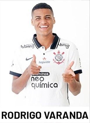 Rodrigo Varanda - 2 jogos (como titular) - 108 minutos em campo
