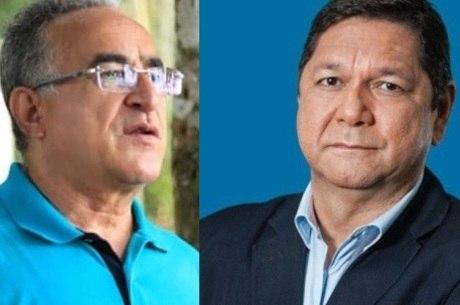 Edmilson Rodrigues (PSOL) e Delegado Federal Eguchi (Patriota)