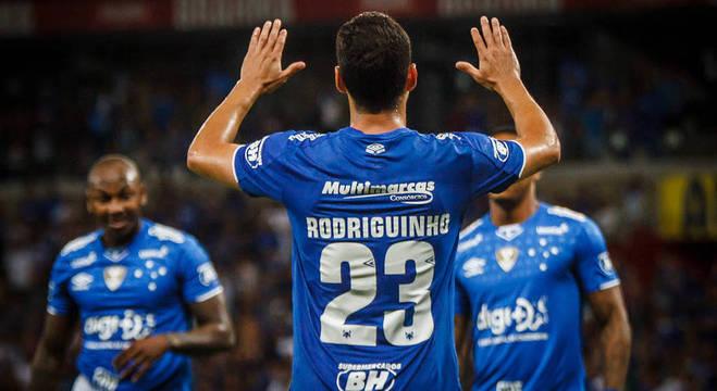 Rodriguinho é uma das armas do Cruzeiro para conquistar nova vitória