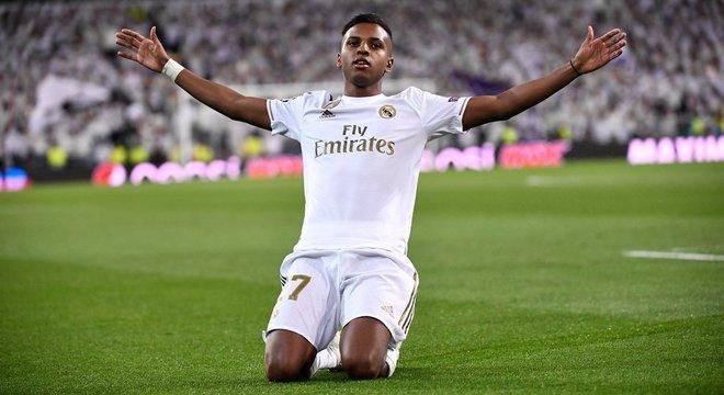 Rodrygo, um novo recordista no Real Madrid