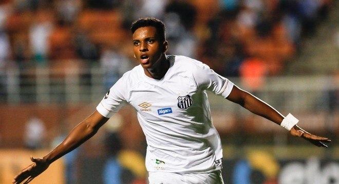 Rodrygo não teve nem a chance de se despedir do Santos. Intransigência da CBF
