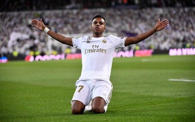 Rodrygo (20 anos) - Posição: atacante - Clube: Real Madrid.