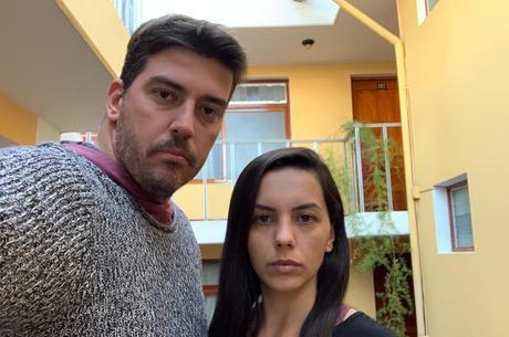 Roger e Karina não sabem quando vão voltar