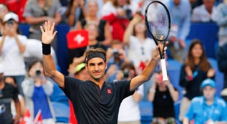 Roger Federer venceu cinco Grand Slams de Wimbledon em seguida (de 2003 a 2007), cinco US Open consecutivos (de 2004 a 2008).