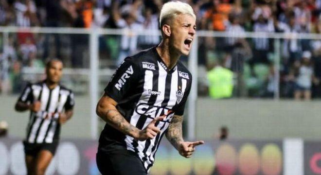 Jogador que voltar a jogar no Atlético. Multa do Palmeiras é um grande entrave