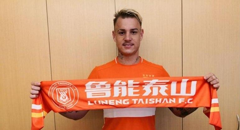 Roger Guedes entrou na Fifa para conseguir sua liberação do Shandong Luneng