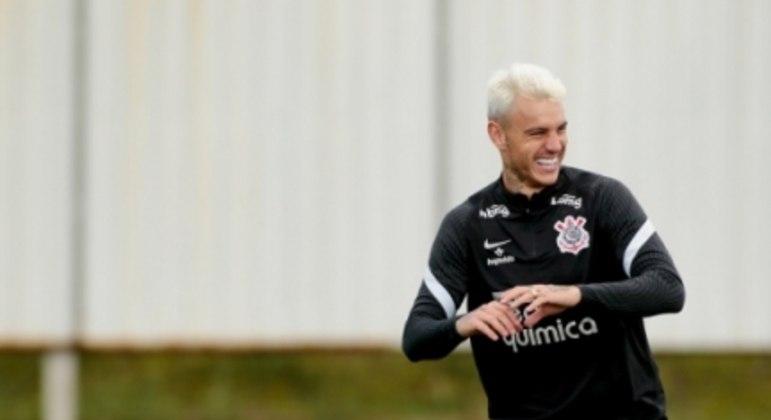 Roger Guedes - Treino Corinthians