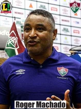 ROGER MACHADO -  4,5 - O Fluminense não soube transformar a maior posse de bola da etapa inicial em oportunidades. Na volta do intervalo, a equipe seguiu esbarrando em erros e foi castigada por erros defensivos.