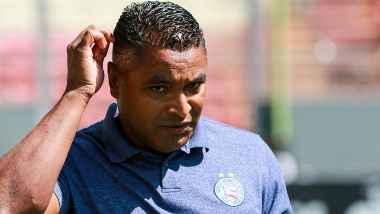 Roger Machado é outro que acabou de perder o cargo. Ele estava no Bahia desde 2019 e acabou demitido. Antes passou por Palmeiras, Atlético-MG e Grêmio