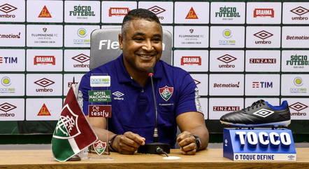 Roger Machado é o novo técnico do Fluminense