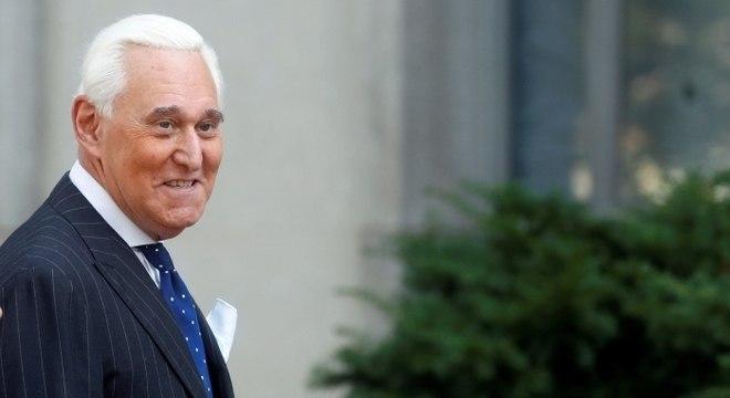 Roger Stone foi assessor de Donald Trump durante a campanha presidencial