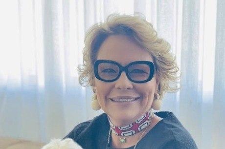 Na imagem,  Rogéria Bolsonaro