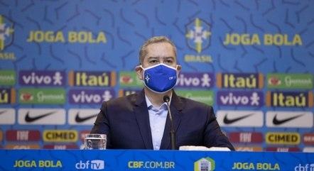 Presidente da CBF, Rogério Caboclo, defende que futebol continue e revela posicionamento de emissora
