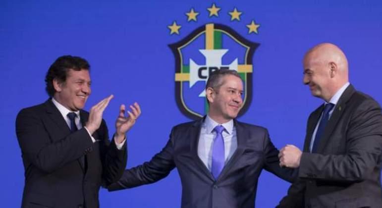 Rogério Caboclo é o responsável pela Copa América vir para o Brasil. Em plena pandemia