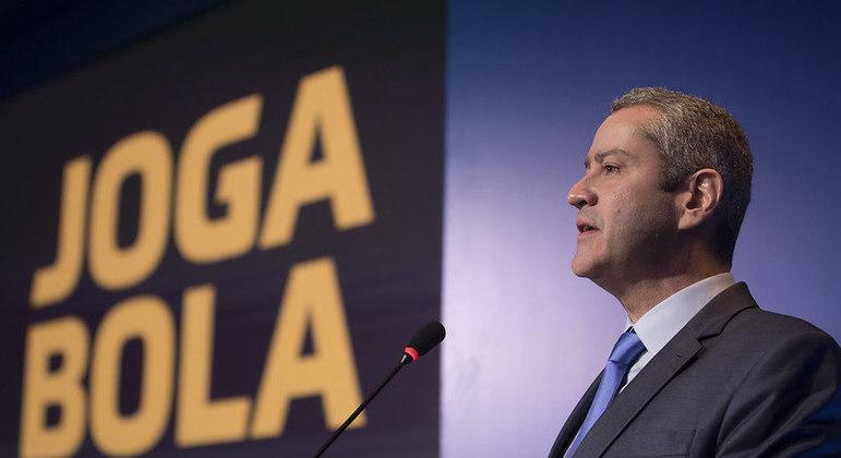 Rogério Caboclo é o atual presidente da CBF