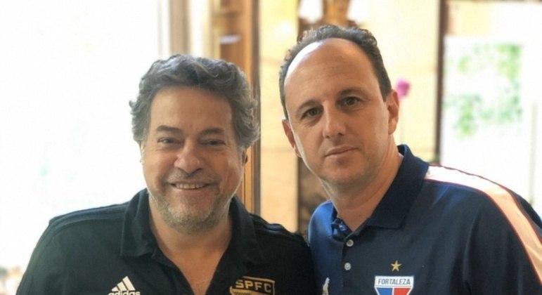 Casares já queria Ceni para começar 2021. Só que o treinador escolheu o Flamengo