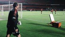 Loucura! Rogério Ceni já treinou o São Paulo. Cinco horas depois da demissão de Crespo