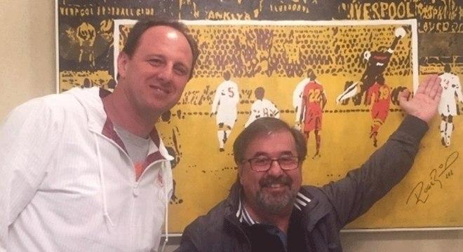 Rogério Ceni e Marco Aurélio Cunha