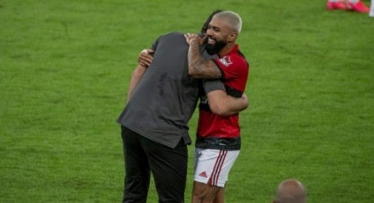 Rogério Ceni e Gabigol - Flamengo