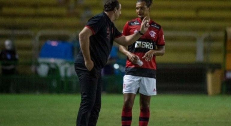 Rogério Ceni e Willian Arão - Flamengo