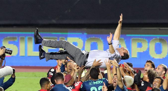 Rogério Ceni foi campeão no Morumbi, estádio em que brilhou pelo São Paulo