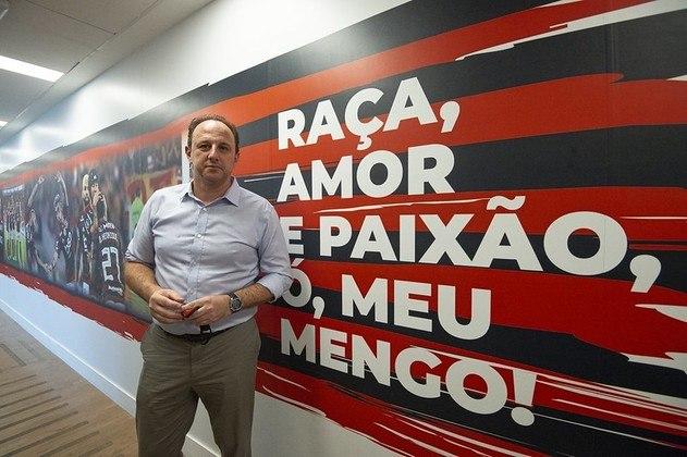 Rogério Ceni, o novo técnico do Flamengo