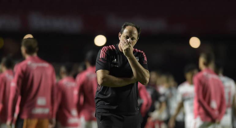 Rogério Ceni voltou ao Morumbi como técnico do São Paulo nesta quinta-feira