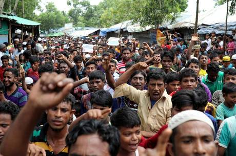 Mianmar é acusado de genocídio contra rohingyas