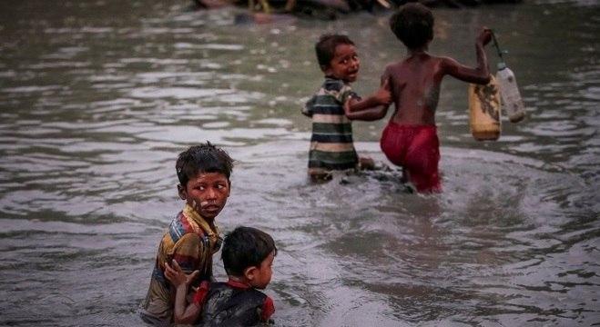 Rohingyas usam a Baía de Bengala e o Mar de Andaman como rota para entrar em outros países